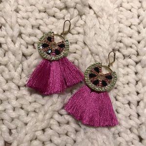 Watermelon Tassel Earrings 🍉